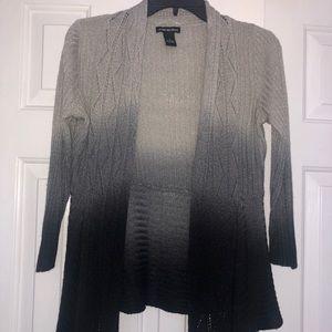 Ombré Knit Cardigan